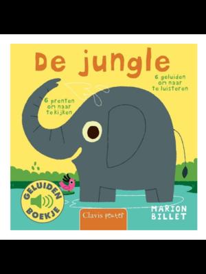 Clavis Boek - De jungle - Met geluid