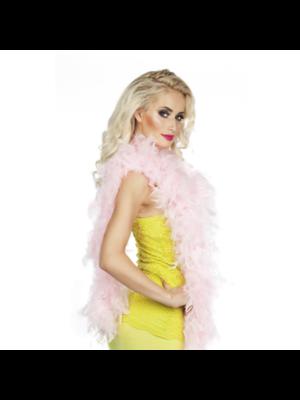 Partychimp Boa - Licht roze - 180cm/50 gram
