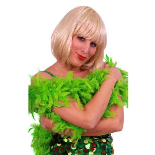 PartyXplosion Boa - Appel groen - Dik - 180cm - 75 gram