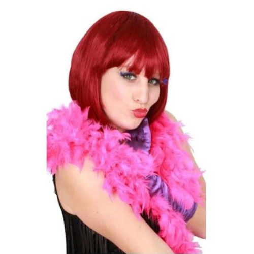 PartyXplosion Boa - Hard roze - 180cm/50 gram