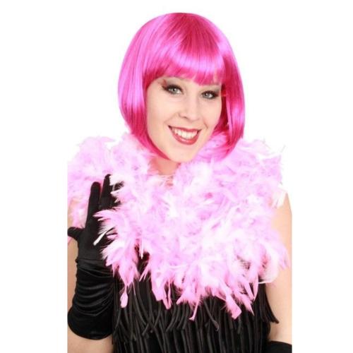 PartyXplosion Boa - Licht roze - Dik - 180cm/75 gram