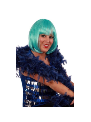 PartyXplosion Boa - Marine blauw - Dik - 180cm/75 gram