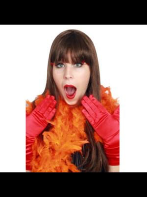 PartyXplosion Boa - Oranje - Dik - 180cm/75 gram