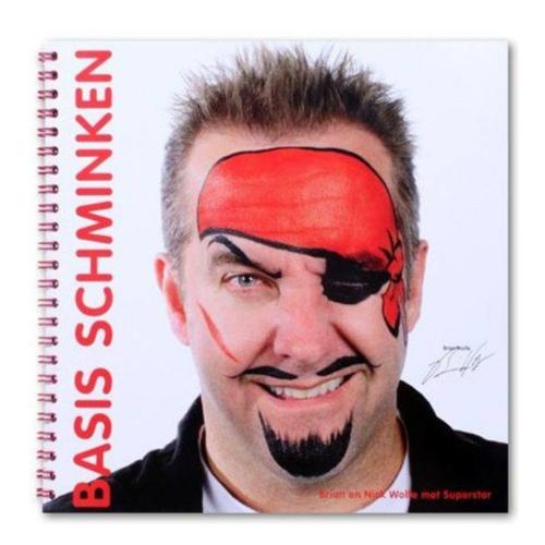 PartyXplosion Boek - Schminkboek - Basis schminken