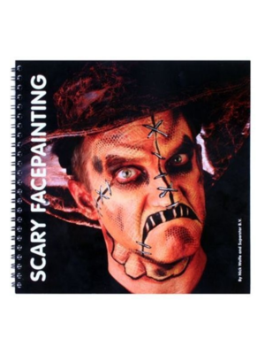 PartyXplosion Boek - Schminkboek - Scary facepainting