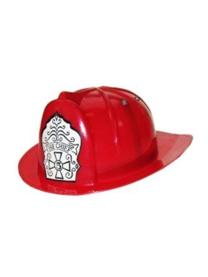 PartyXplosion Helm - Brandweer - Rood