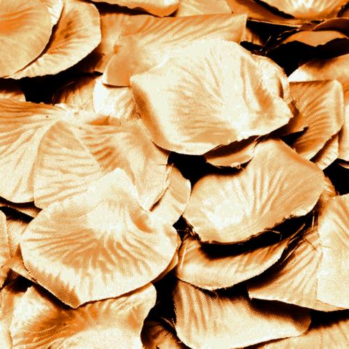 Folat Rozenblaadjes - Goud - 144st.