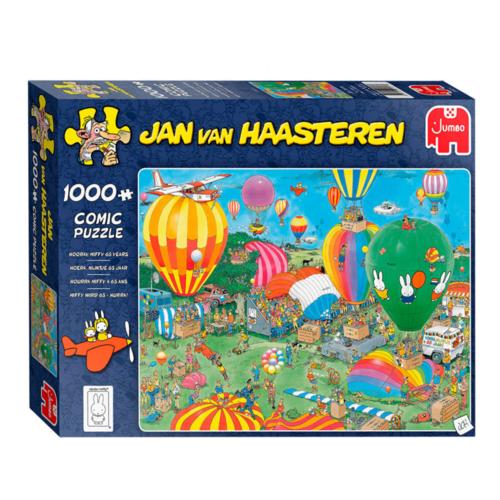 Puzzel - Jan van Haasteren - Hoera Nijntje 65 jaar - 1000st.