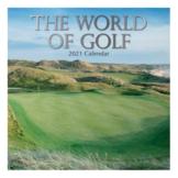 Kalender - 2021 - The wereld van golf - 30x30cm - in Kalenders