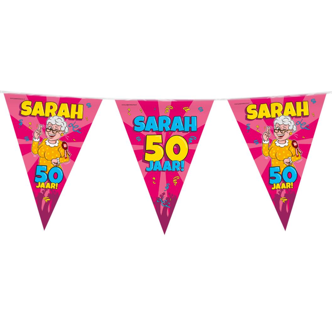 Paperdreams Vlaggenlijn - Sarah - Cartoon - 10m