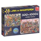 Puzzel - Jan van Haasteren - Let#039s party - 500+1000st.