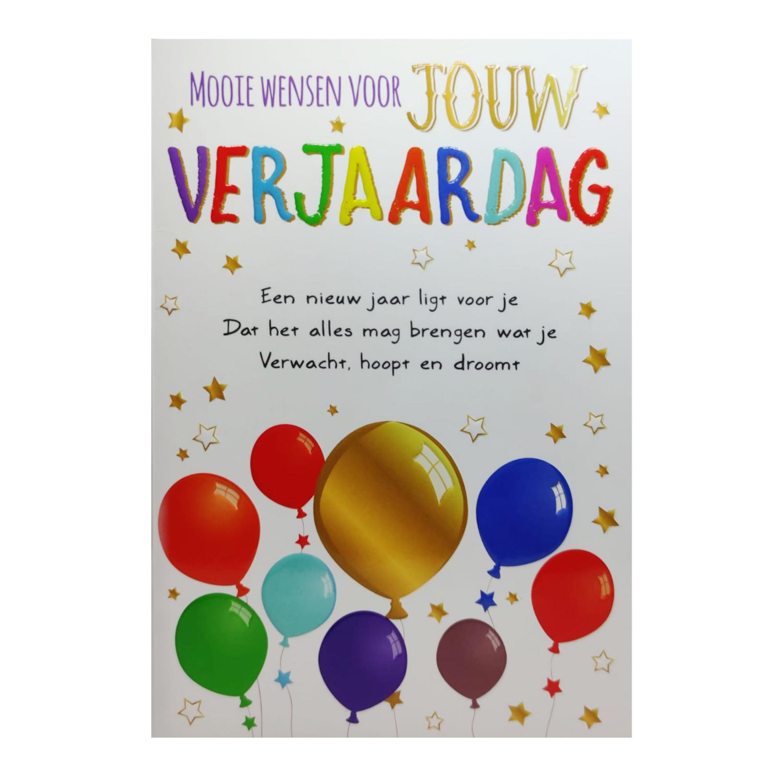 Artige Kaart - Intense - Mooie wensen voor jouw verjaardag - TE030-A