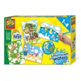 Kleuren met water - Verborgen dieren - in Tekenen & Kleuren