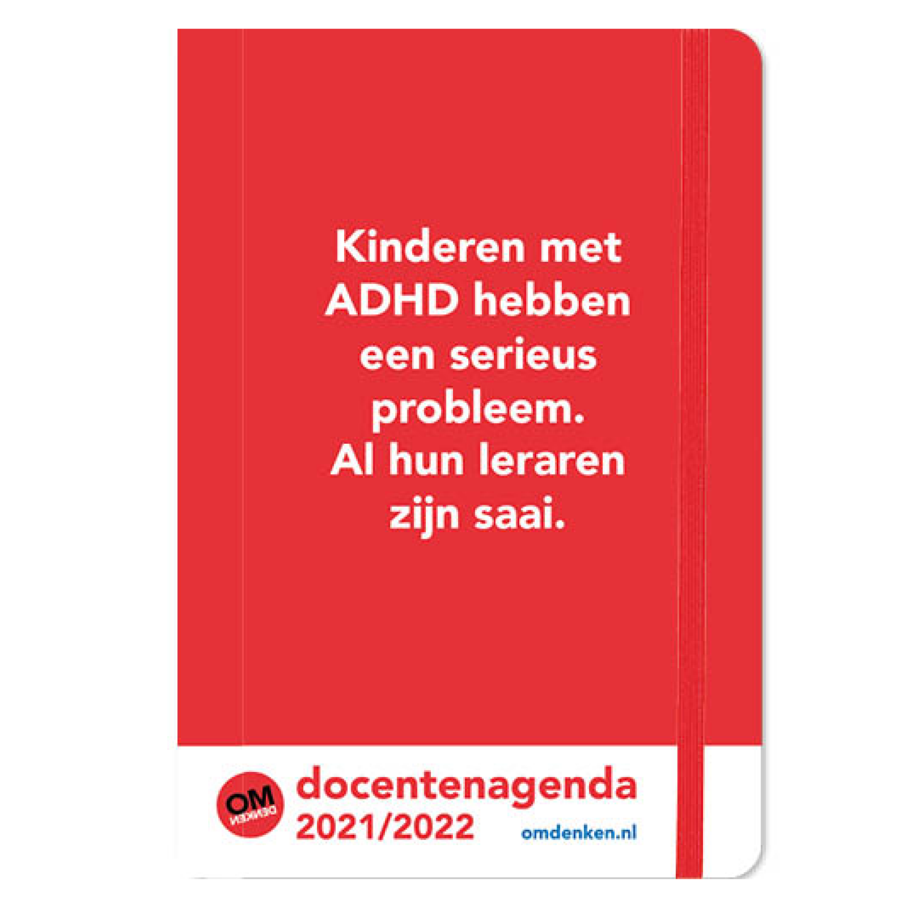 Agenda - 2022 - Docentenagenda - Omdenken - A5 - 14,8x21cm
