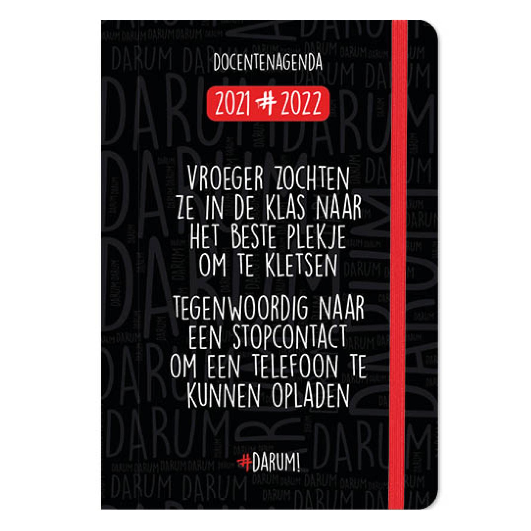 Agenda - 2022 - Docentenagenda - Darum! - A5 - 14,8x21cm