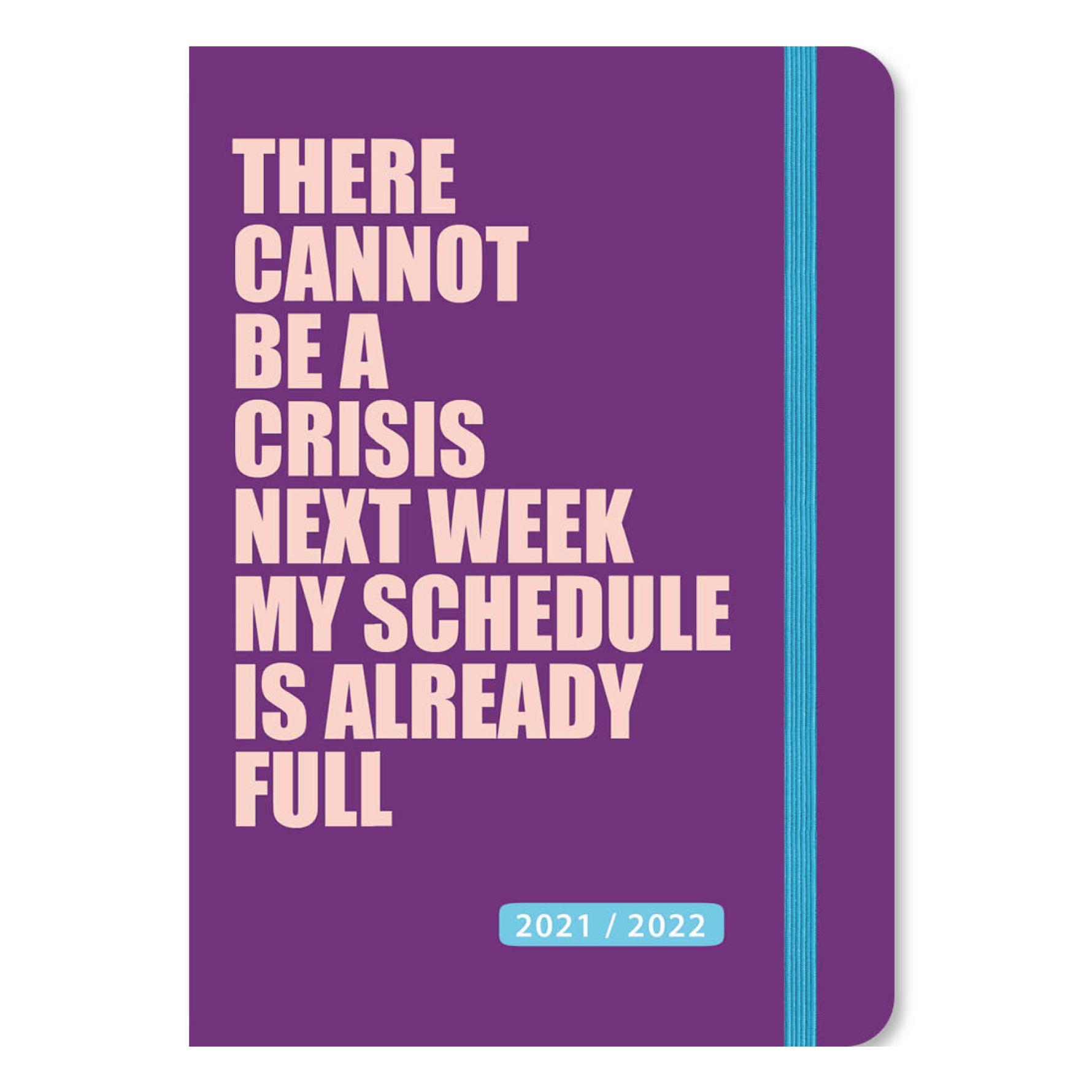 Agenda - Maandplanner - 2022 - 17 maanden - A5 - Paars - in Agenda's