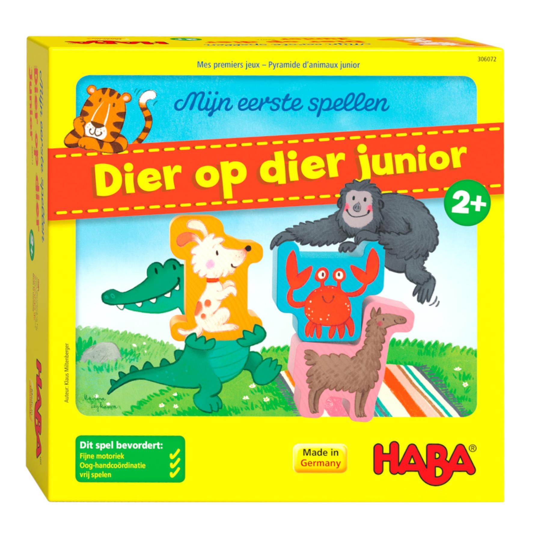 Spel - Mijn eerste spellen - Dier op dier Junior - 2+