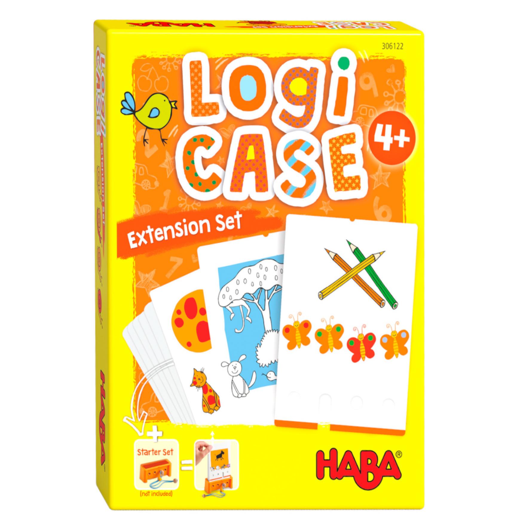 Spel - LogiCASE - Dieren - Uitbreidingsset - 4+