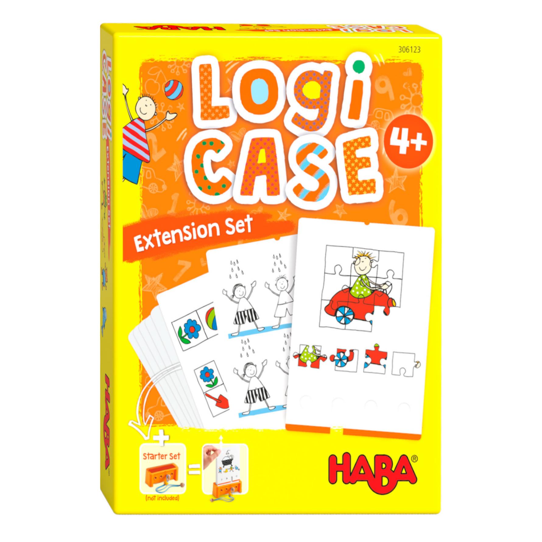 Spel - LogiCASE - Alledaagse leven - Uitbreidingsset - 4+