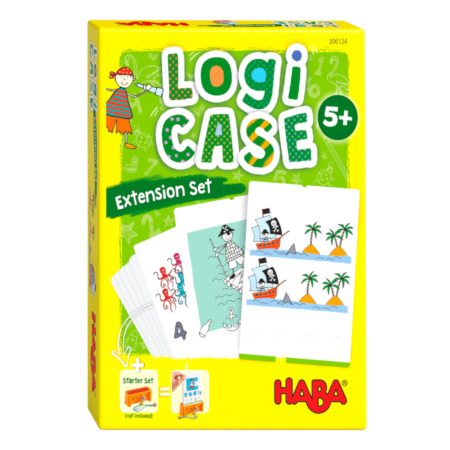 Spel - LogiCASE - Piraten - Uitbreidingsset - 5+