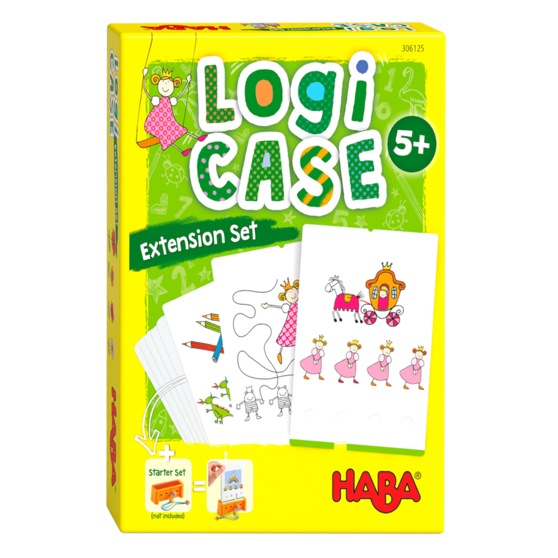 Spel - LogiCASE - Prinsessen - Uitbreidingsset - 5+