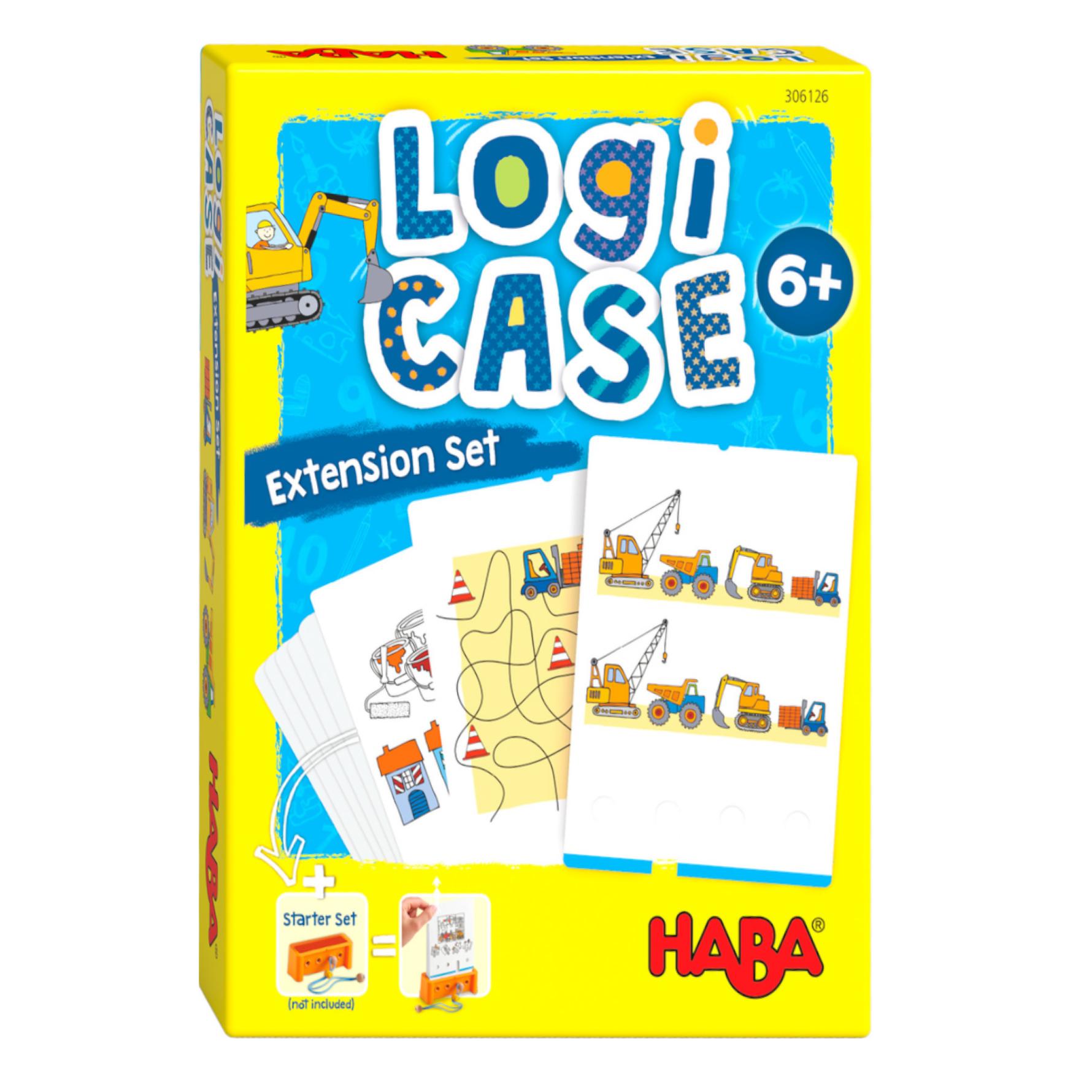 Spel - LogiCASE - Bouwplaats - Uitbreidingsset - 6+