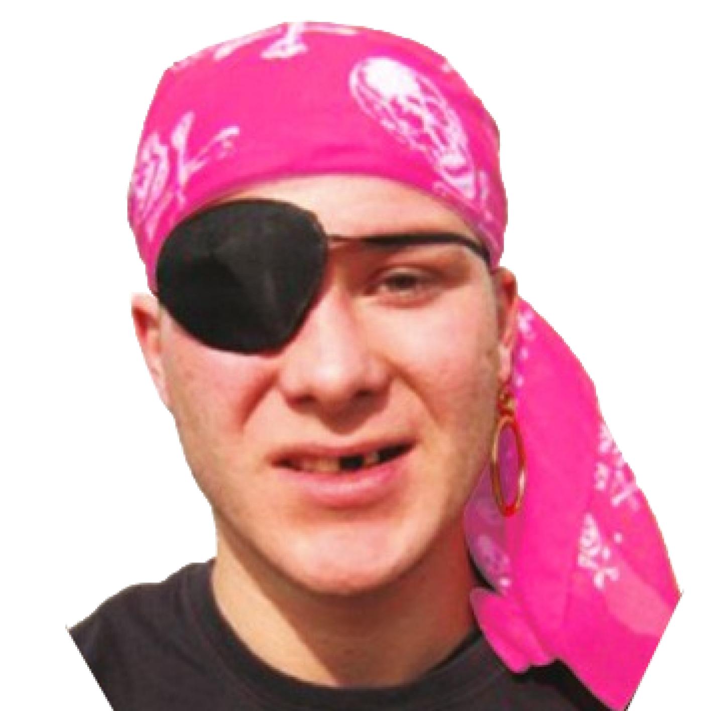 Zakdoek - Roze - Bandana - Piraat