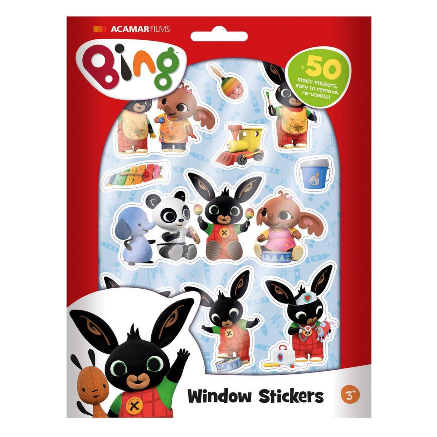 Raamstickers - Bing - in Stickers & Tapes