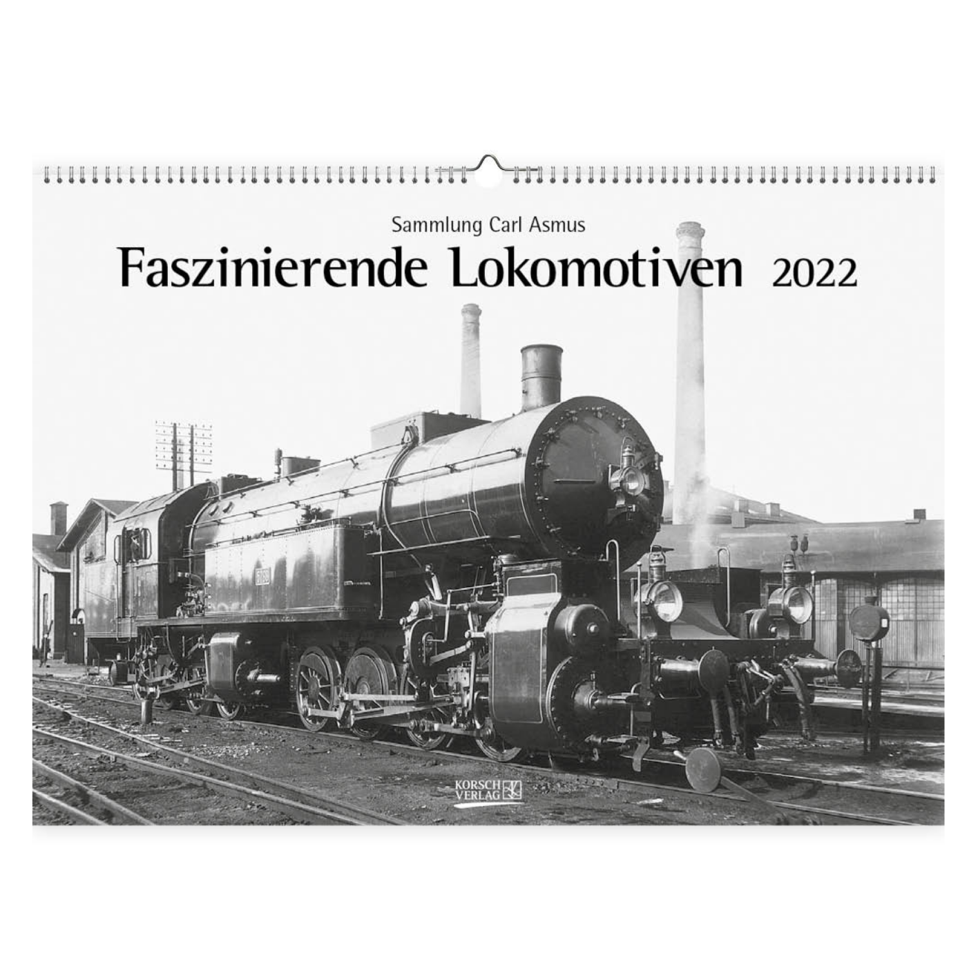 Kalender - 2022 - Fascinerende locomotieven - 42x30cm - in Kalenders