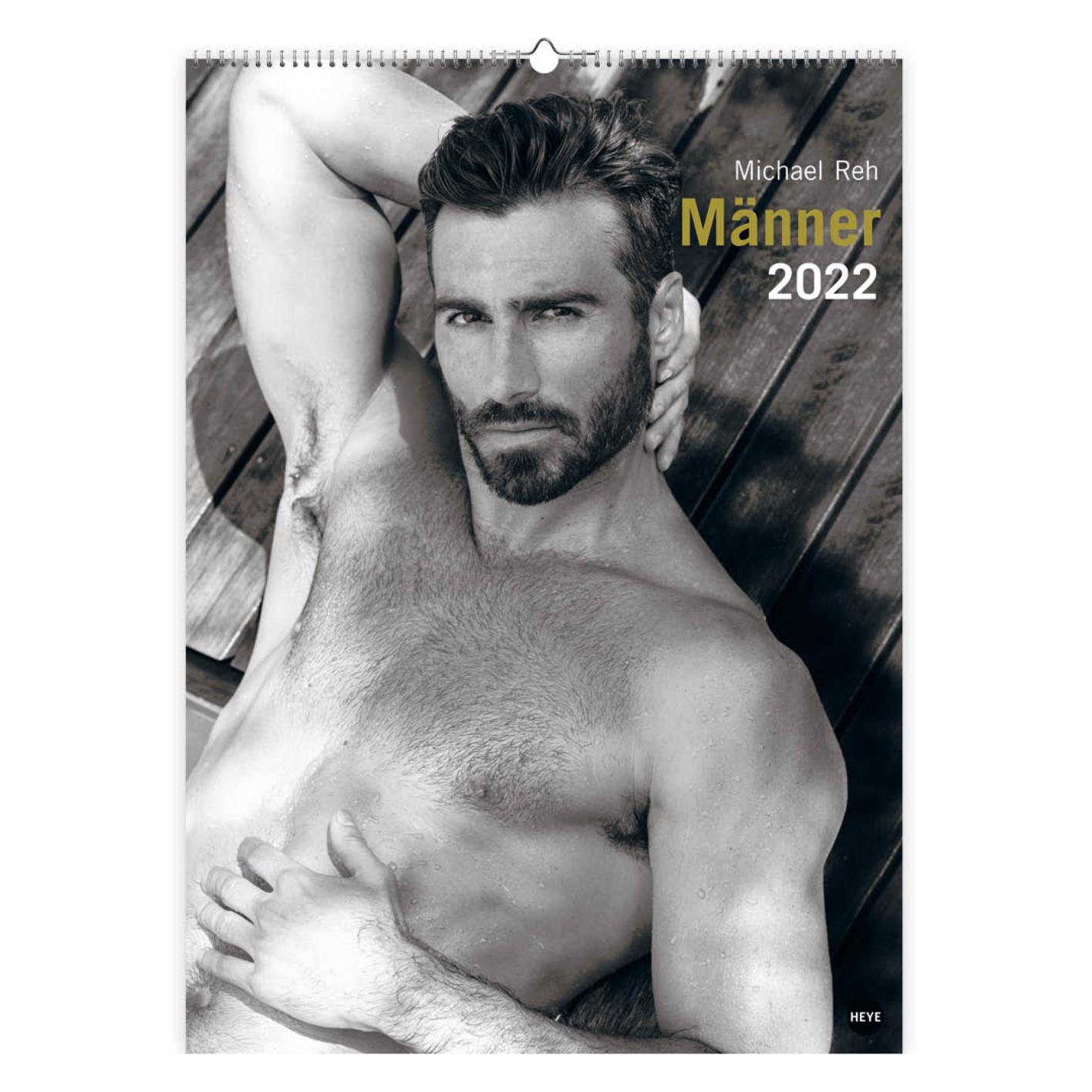 Kalender - 2022 - Mannen - Michael Reh - 49x68cm - in Kalenders