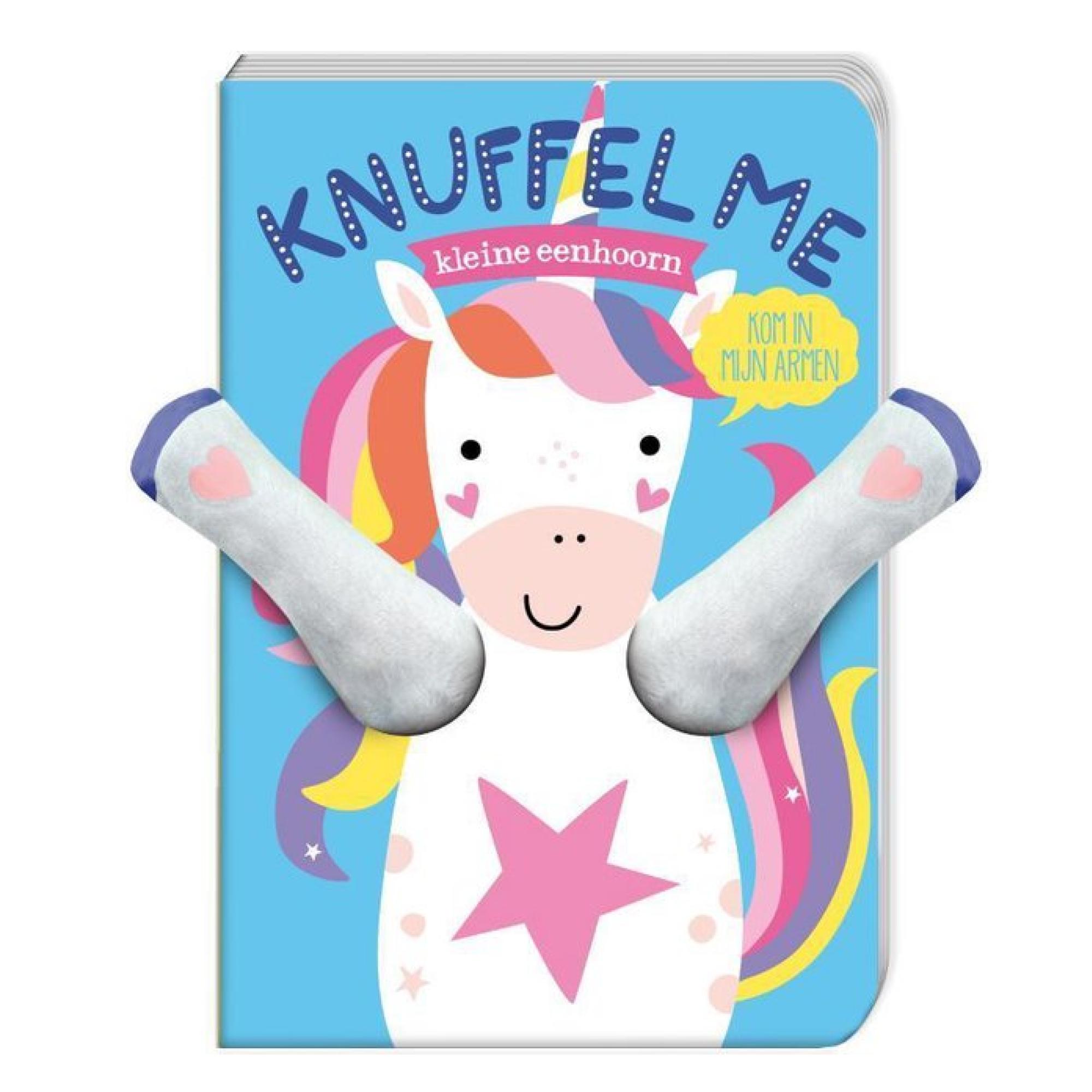 Imagebooks Boek - Knuffel me - Kleine eenhoorn - Unicorn