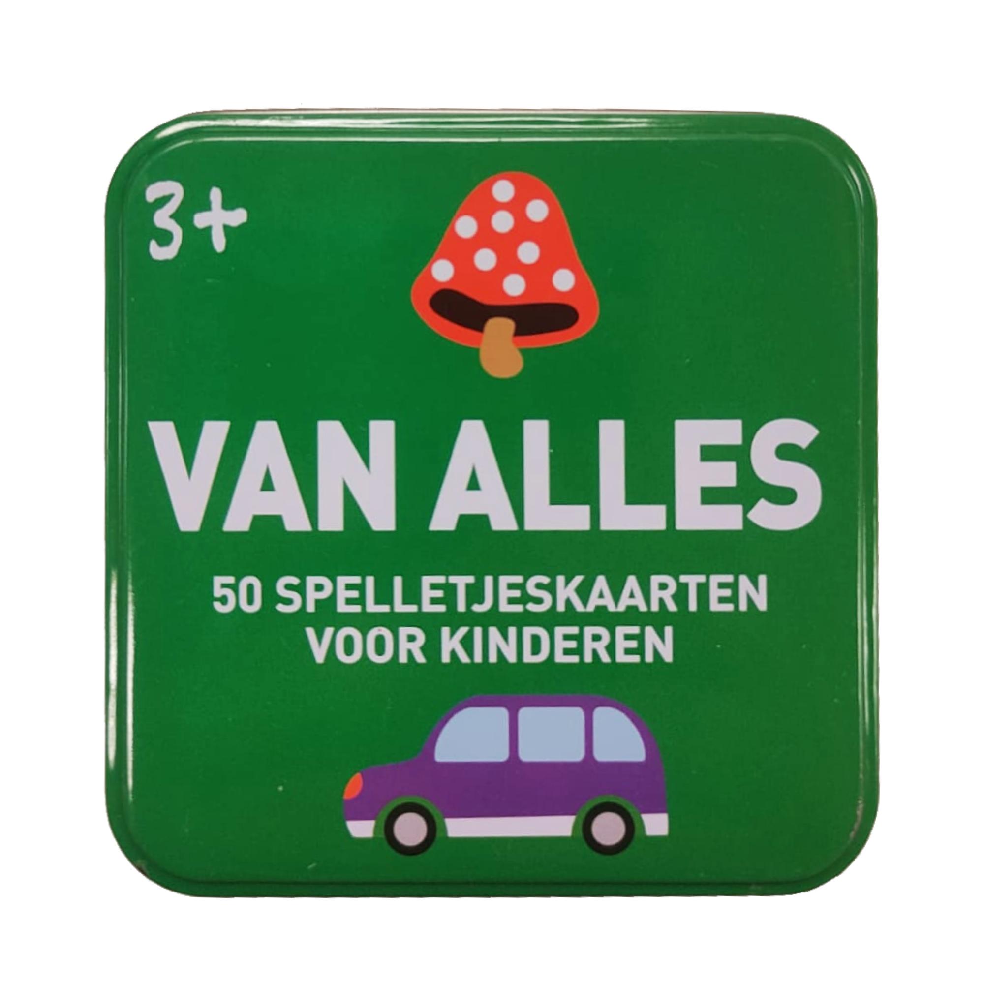 Imagebooks Spelletjes kaarten in blikje - Van alles - 3+