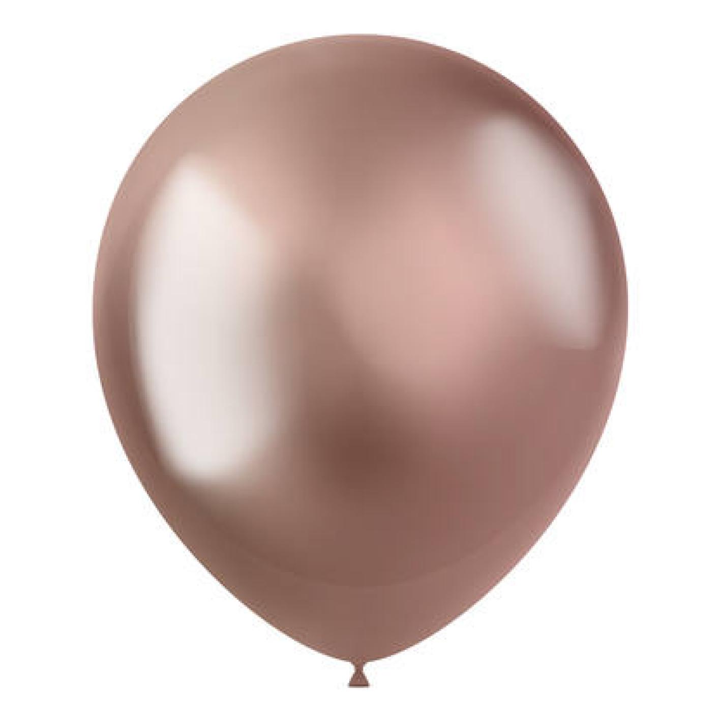 Folat Ballonnen - Rosé goud - Intense - 30cm - 50st.