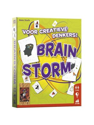 999 Games 999 Games - Kaartspel - Brainstorm - 12+