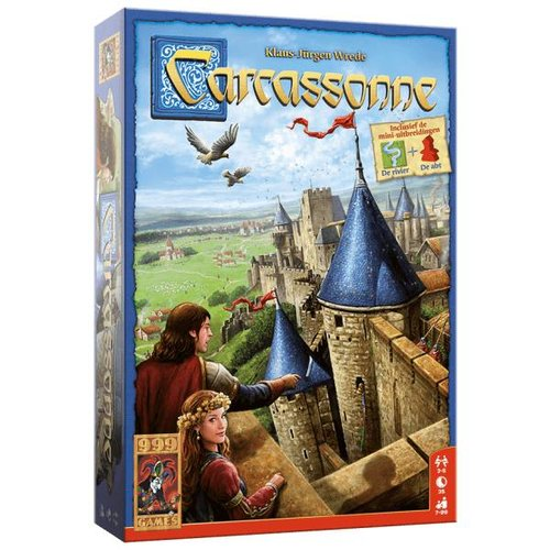 999 Games Bordspel - Carcassonne - 7+
