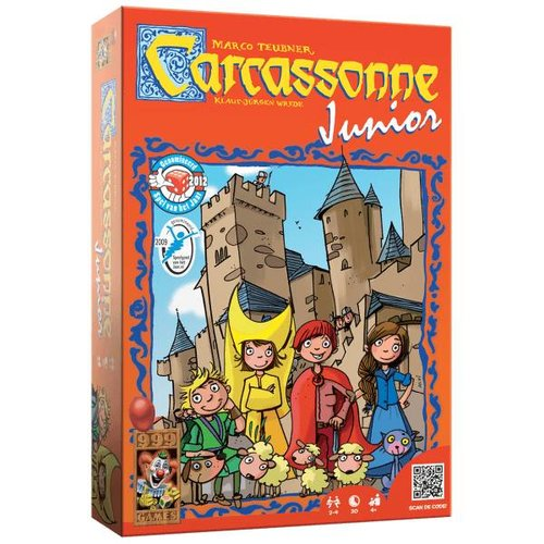 999 Games Bordspel - Carcassonne - Junior - 4+
