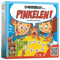 999 Games - Commando pinkelen - 4+