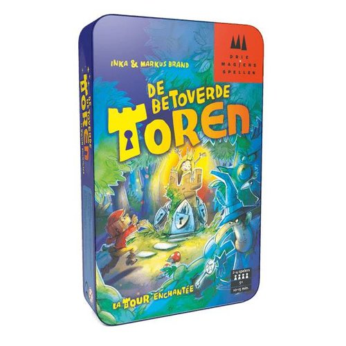 999 Games Bordspel - De betoverde toren tin - 5+