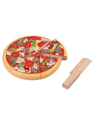 Santoys Santoys - Snijfiguur - Pizza salami/groente