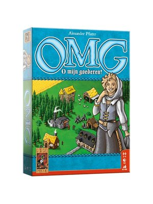 999 Games 999 Games - Bordspel - OMG - O mijn goederen! - 10+