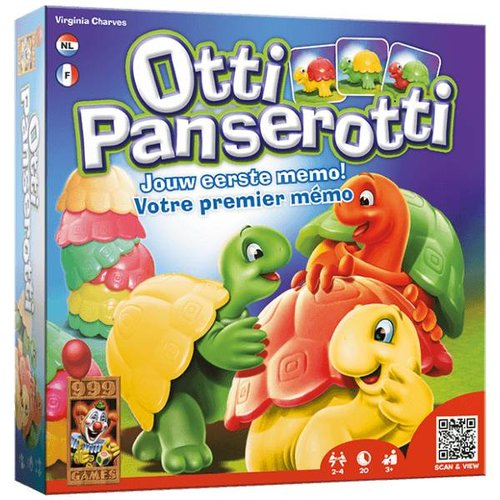 999 Games 999 Games - Otti panserotti - 3+