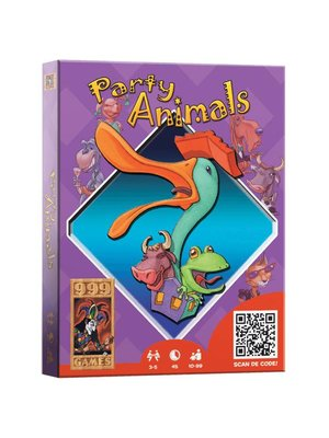 999 Games 999 Games - Kaartspel - Party animals - 10+
