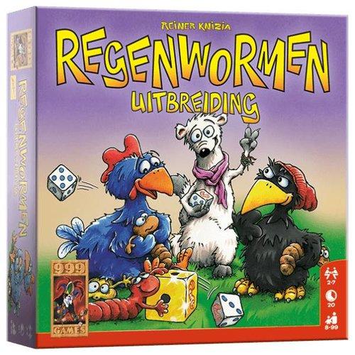 999 Games 999 Games - Dobbelspel - Regenwormen - Uitbreiding - 8+