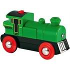 BRIO Brio - Rails - Locomotief op batterijen - Groen - Stop/start (33595)