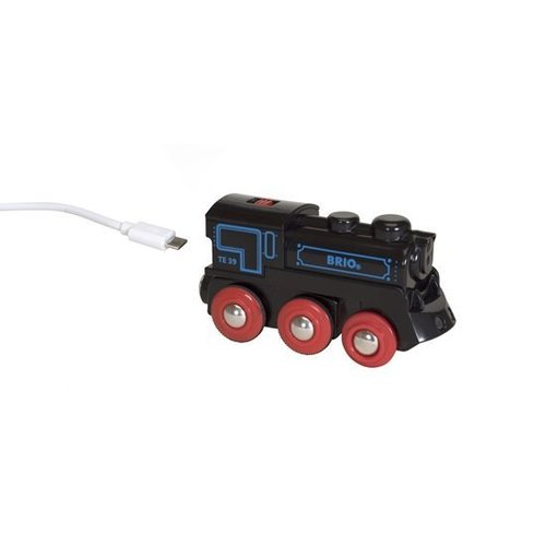 Brio Trein - Locomotief - Op accu - Incl. mini USB kabel