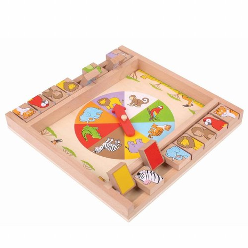 BigJigs Bigjigs - Spel - Shut the box - Dieren