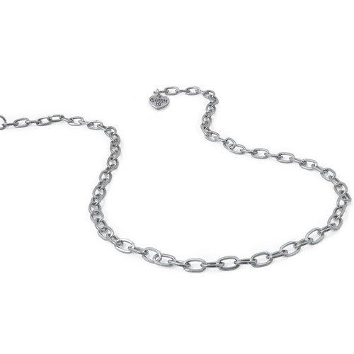 Charm It! - Halsketting - Schakels metaalkleur