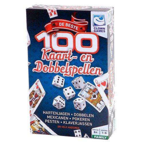 Clown Games - 100 Beste kaart- en dobbelspellen