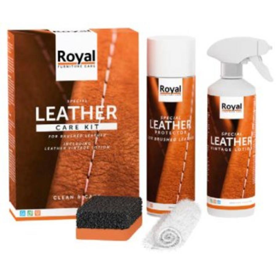 Leather Care Kit - Brushed Leather-1