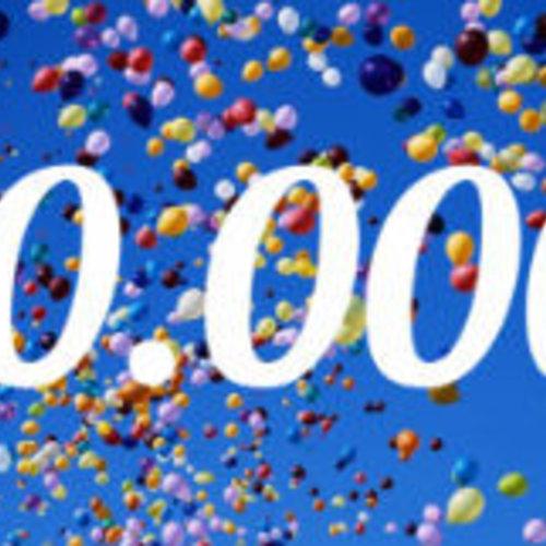 Feest: 10.000 bestellingen!